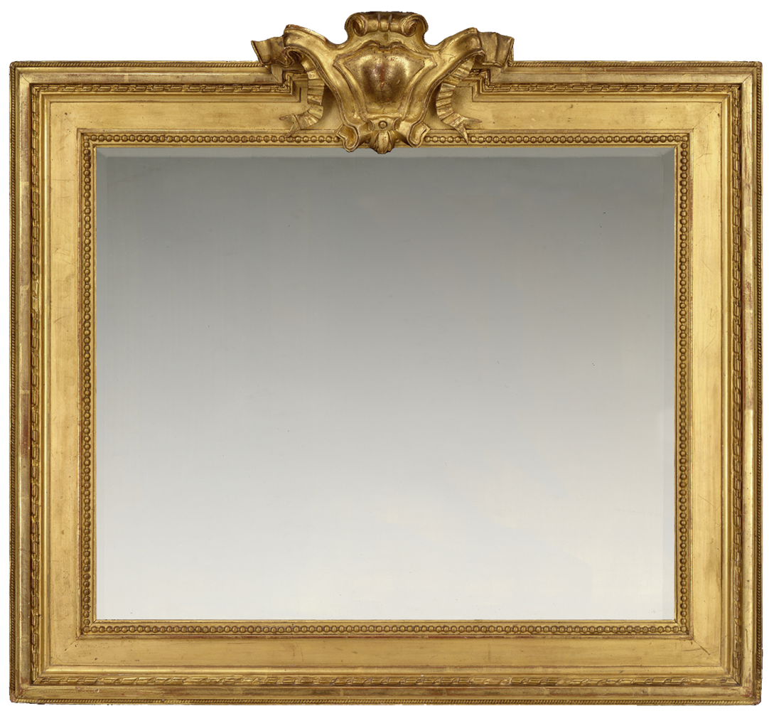 2nd & 3rd qtr 19th century French Louis XVI Revival frame