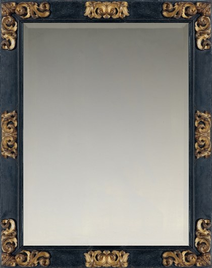 17th century Spanish Baroque cassetta frame