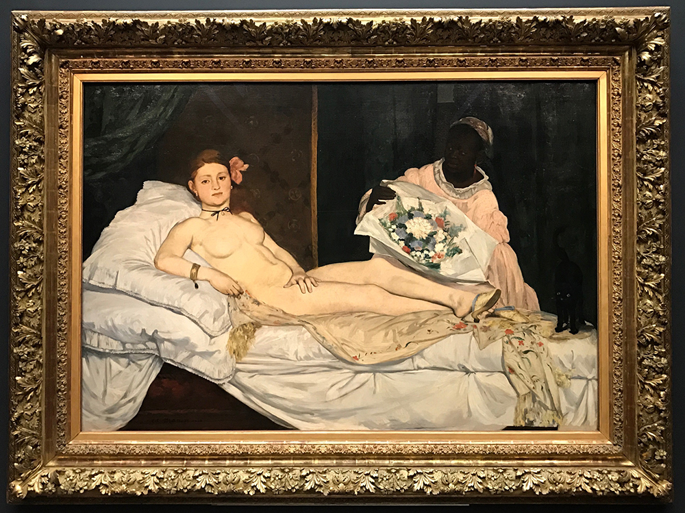 Edouard Manet (1832-83), Olympia, 1863, 130 x 190 cm., Musée d'Orsay